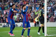 Neymar, Messi, Suarez Score as Barcelona Beat Villarreal 4-1