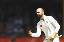 Worcestershire Sign Australia Off-spinner Nathan Lyon