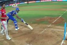 IPL 10: Was Kieron Pollard's Short Run Deliberate?