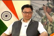 We Believe in Human Rights, But Forces Have Rights Too: Kiren Rijiju