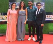 Anushka Sharma-Virat Johli Join Sachin Tendulkar, Anjali At The Screening Of Sachin: A Billion Dreams