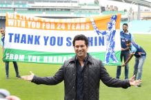 Sachin Tendulkar Spends Time With Fans At The Kia Oval in London