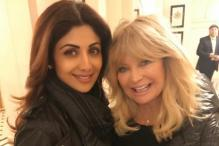 Shilpa Shetty Finds a New Yoga Ally In Hollywood Actress Goldie Hawn