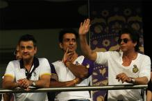 IPL 2017: Shah Rukh Arrives At Eden Amidst Huge Cheer