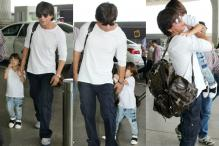 Shah Rukh Khan and His Son AbRam Are Twinning In White, See Pics
