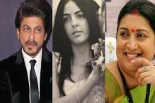SRK Makes an Interesting Revelation About Smriti's Stepdaughter