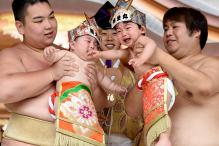 Bawling Babies Face Off in Japan's 'Crying Sumo'