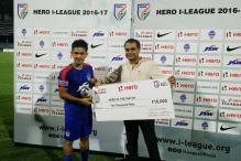 Sunil Chhetri Voted Best Player of I-League