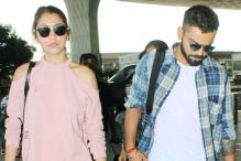 Anushka Sharma, Virat Kohli Arrive In Delhi To Throw a Grand Reception