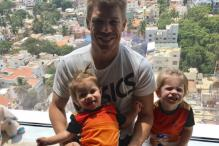 IPL 2017: David Warner Happy to Reunite With Cute Daughters