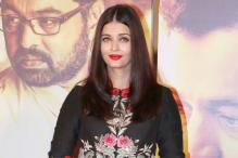Aishwarya Rai Bachchan at 'Hrudayantar' music launch