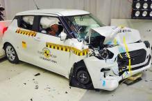 2017 Suzuki Swift Undergoes Crash Test, Scores Three Out of Five