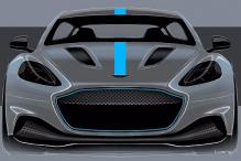 Aston Martin Confirms Production of Its First All-Electric Model RapidE
