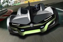 Volkswagen Future All-Electric Sportscar Imagined