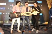 IIFA 2017: Varun Dhawan, Saif Ali Khan and Karan Johar at Press Conference