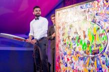 Virat Kohli Painting Bought For 290 Thousand GBP