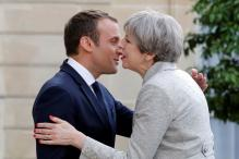 France's Emmanuel Macron Says EU Door Remains Open to UK