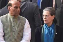 Presidential Elections: Rajnath Singh, Venkaiah Naidu Meet Sonia Gandhi