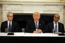 In Pics: US President Donald Trump Meets Apple, Amazon, Microsoft, Other Tech CEOs to Discuss Government Overhaul