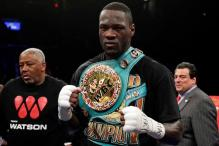 Heavyweight Boxer Wilder Arrested for Marijuana Possession
