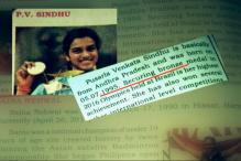 PV Sindhu Won Bronze, Saina is Sania: Glaring Errors in Karnataka Textbooks
