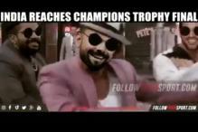 Watch 'Kohli, Dhawan & Yuvraj' Dance to Bhojpuri Item Song Ahead of Final