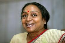 Will Contest on Plank of Democratic Values: Meira Kumar