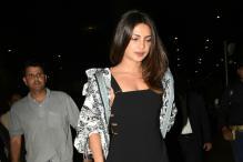 Priyanka Chopra Looks Chic In A Black Jumpsuit As She Arrives At Mumbai Airport