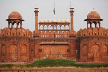 Red Fort With Indian Flag Part of Pakistan Exhibit in SCO Event