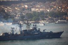 Russia Warships and Submaries Fire Cruise Missiles at Syria: Moscow