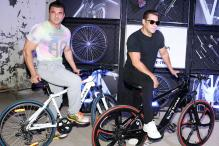Salman Khan Introduces Being Human E-Cycles On World Environment Day, See Pics