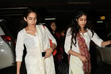 Sara and Jhanvi Twinning In White Kurtis Are The New Emerging Bollywood BFFs