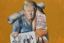 Syrian Artist Paints Trump, Putin And Other World Leaders as Refugees