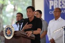 Philippines' Duterte Threatens to Jail Martial Law Critics