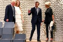 France's Macron Says will Continue to Press Trump on Climate Agreement