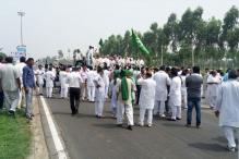 Sutlej-Yamuna Link Row: INLD Activists Block Roads Along Haryana-Punjab Border