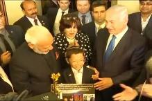 Modi Meets 'Baby' Moshe, Gives Him a Long-Term Visa to India