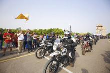 Royal Enfield Himalayan Odyssey 2017 Flagged Off From India Gate