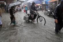 Rains Lash Mumbai, Slows Down Rush Hour Traffic