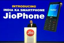 Watch: RIL Launches 1st Made In India Phone, Free For All