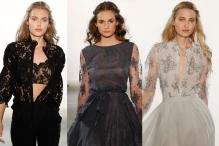 Sheer Lace at Mercedes-Benz Fashion Week in Berlin