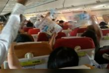 AC Goes Bust on AI Flight, Video Shows Passengers Fanning Furiously