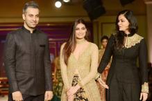 ICW 2017: Athiya Shetty Graced the Ramp For Designer Duo Shyamal And Bhumika