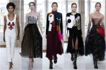 Paris Haute Couture Week: Schiaparelli Keeps It Light For Fall/Winter 2017