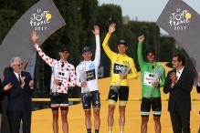 Chris Froome Wins Fourth Tour de France, 'Honoured' to be With Greats