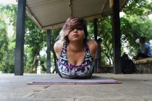 The Indian Woman Defying Body Stereotypes Through Yoga