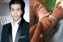 Karan Johar Shares First Photo of Twins Roohi, Yash And It Is Adorable