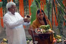 Lalu Hopes to Weather Political Storm With Divine Intervention