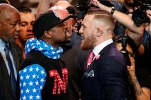 Mayweather, McGregor Press Tour Kicks Off With a War of Words