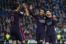Barcelona Coach Valverde Picks Messi, Suarez and Neymar for Special Praise
